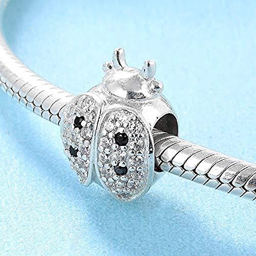 Charm Kralen,Nieuwe 925 Sterling Zilver Lieveheersbeestje Kralen Voor Vriendin Gift Fit Originele Charms Armband Sieraden Maken