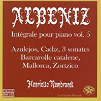 ALBENIZ/ INTEGRALE VOL.5