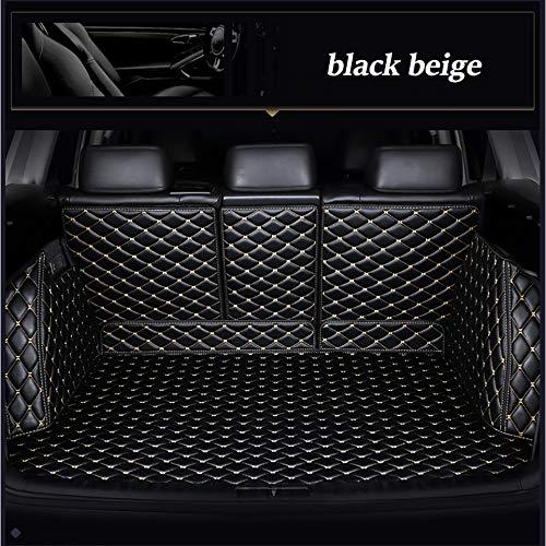 XHULIWQ Leder-Kofferraummatte, Für BMW 4er 420i 425i 430i 440i 420i 428i 435i 418d 420d, Custom Boot Mat Interior Car Styling