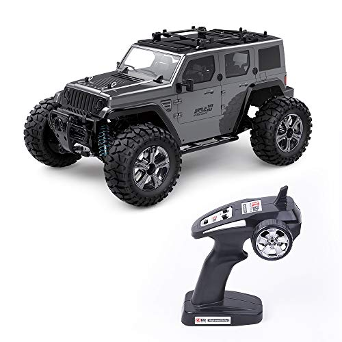 Rc Cars Off Road 4wd - Roterdon Rc Truck 1/14 Remote Control Car Cross-Country Monster Crawler Kids 35KM/H High Speed 2.4GHz Racing Vehicle Radio Control Toys for Boys
