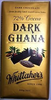 Whittakers 50% Cocoa Dark Chocolate Bar, 200 g