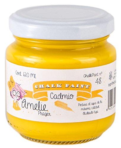 Amelie Prager 120-48 Pintura a la Tiza, Cadmio, 120 ml