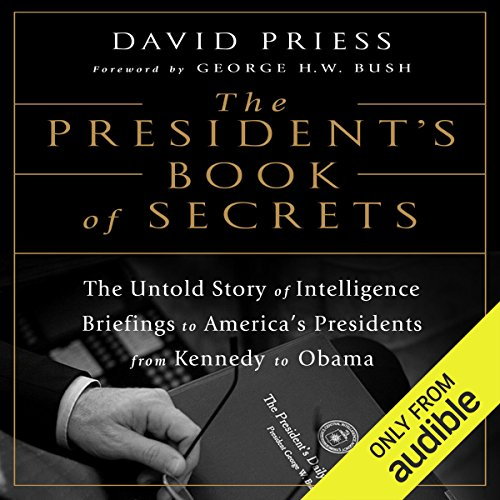 The President's Book of Secrets audiobook cover art