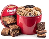 David's Cookies and Brownie Family Pack - 5 Lb. Gift Tin...