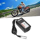 Cargador de scooter eléctrico, protección contra cortocircuitos del cargador de silla de ruedas eléctrica para scooter para silla de ruedas eléctrica(Transl)