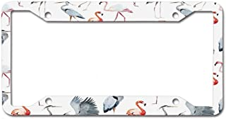 Racing angel Metal License Plate Car Decoration - Metal License Plate Frame