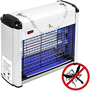 ALLPER Mata Mosquitos eléctrico, Repelente Anti Insectos, 12 W, Potencia 2x10W, Alimentación 50Hz-60Hz, 26x24x10,5 cm.