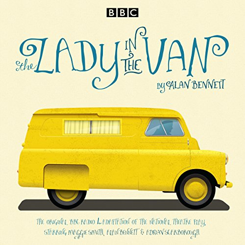 The Lady in the Van audiobook cover art