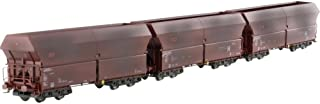 trains Mehano, Set with 3 DB FALNS 121, Weathered, H0 Scale