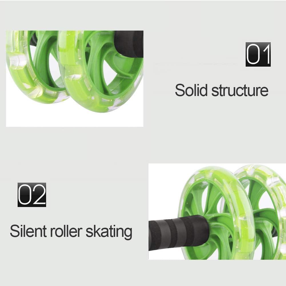 Sunshine smile abdominal Roller Trainer,bauchroller,ab Wheel f/ür Fitness,bauchmuskeltraining Roller,bauchtrainer ab Roller,bauchmuskeltrainer bauchtrainer