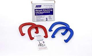 St Pierre Sports Royal Horseshoe Set, Red/Blue (Renewed)