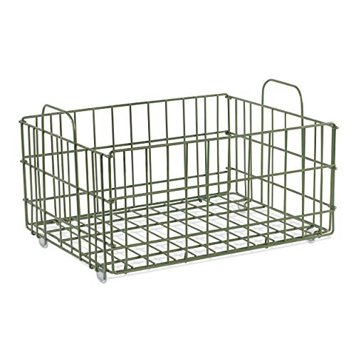 Atlantic Cart System Removable Basket - Tiered Cart System Wire Basket PN2330842 in Green