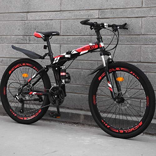 BNMKL Vélo Pliant, VTT pour Les Adolescents...