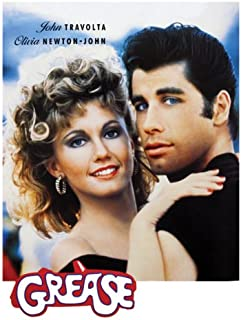 grease poster musical