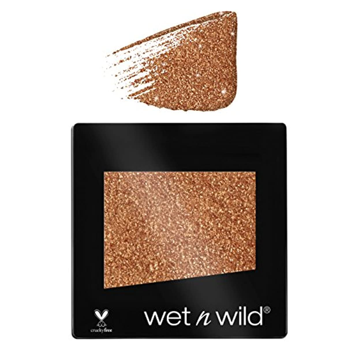 シニス連合ボット(6 Pack) WET N WILD Color Icon Glitter Single - Brass (NEW) (並行輸入品)