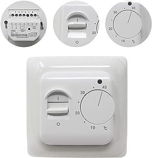 Sponsored Ad – KETOTEK Manual Underfloor Heating Thermostats 220V 16A, Electric Underfloor Heating Controller Mechanical w...