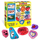 Product Image of the Creativity for Kids Hide & Seek Rock Painting Kit - Arts & Crafts For Kids -...