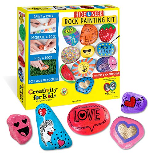 Creativity for Kids Hide & Seek Rock Painting Kit (Original) $6.49 + Free Shipping w/ Prime or on $25+