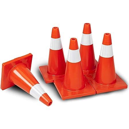 JBC Safety Plastic RS90070CT Revolution Series 36 Traffic Cone Wide Body Orange Color