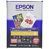 EPSON スーパーファイン紙 A4 100枚 KA4100SFR