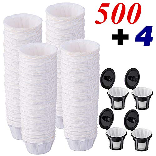 Unbleached Coffee Filters  For Single Serve Keurig 1.0  2.0 Brewer