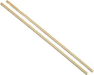 YXQ M6 x 250mm Brass Rod Fully Right Hand Threads(2Pcs)