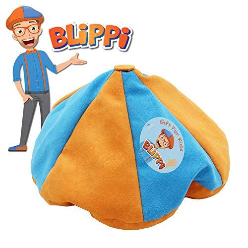 Blippi Hat Unisex Children Kids Blippi Cap Birthday Party Cosplay Prop