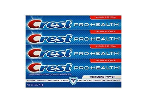 4x CREST Pro-Health Whitening Power bleichende Zahnpasta mit Fluoride 93g USA