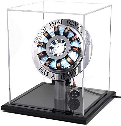 Niceen Modellbau-Set Arc-Reaktor MK2, Maßstab 1:1, zum Basteln, Spielzeug mit LED-Beleuchtung, wie in der Brust von Tony Stark, als Lampe geeignet, Mehrfarbig