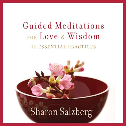 Guided Meditations for Love and Wisdom audiobook cover art