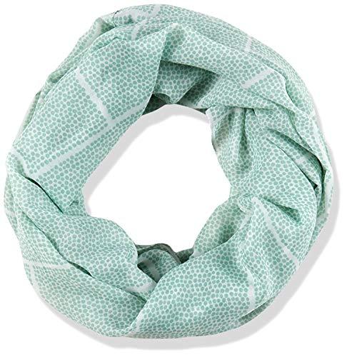 ESPRIT Accessoires Damen 040EA1Q302 Mode-Schal, 390/LIGHT Aqua Green, 1SIZE