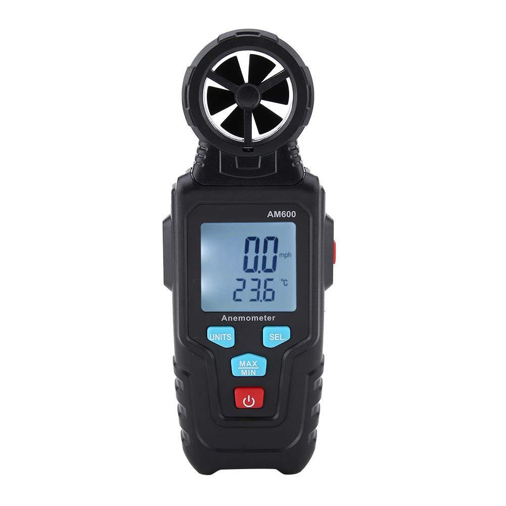 MESTEK AM600 Anemometer Digital LCD Speed Gauge Meter Translated Wind Therm Selling