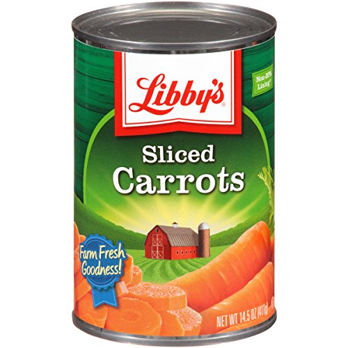 Libby's Sliced Carrots, 14.5-Ounce Cans (Pack of 12)