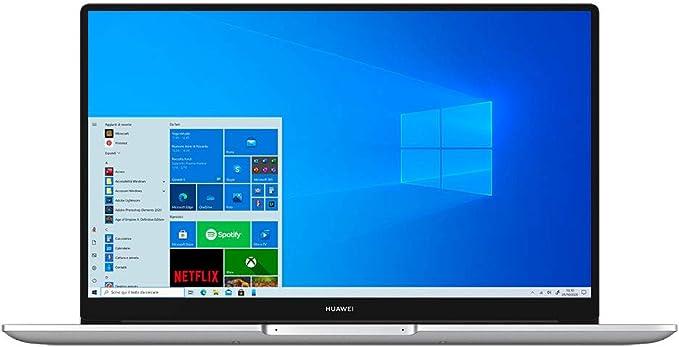 447 opinioni per HUAWEI MateBook D15 Laptop, 15.6 Pollici Full View 1080P FHD Notebook PC