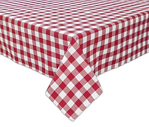 Bardwil Café Check 52'x70' Oblong Tablecloth
