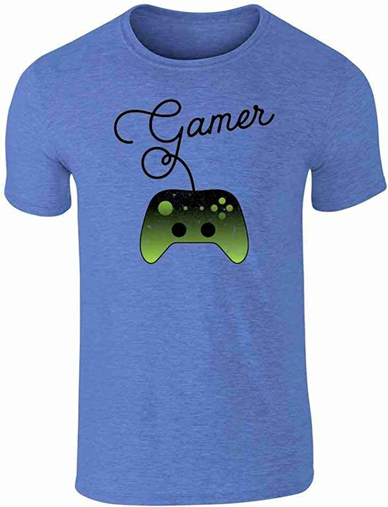 I'm a Gamer XB Controller Video Games Heather Royal Blue 3XL Graphic Tee T-Shirt for Men