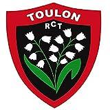 RCT Grand Auto Collant Blason Racing Club TOULONNAIS 20X18 CM