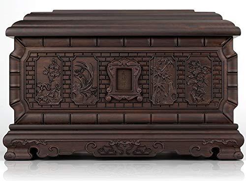 Caja para las cuatro estaciones, Antai negro, palisandro, urna, para hombres y mujeres, modelo de madera maciza, caja para la vida, sarg tianshunxiang, tienda antigua SF