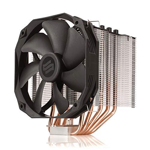 SilentiumPC Fortis 3 HE1425 CPU Kühler mit 140mm PWM Lüfter (500-1400 U/min, 220W TDP)