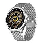 YLB Smart Watch Correr Watch Fitness Trackers con monitor de ritmo cardíaco Step Counter Sleep Monitor IP67 Reloj de actividad digital a prueba de agua Compatible con teléfonos Android (Color: Negro)