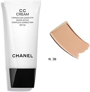 Chanel CC Cream Super Active Complete Correction SPF 50# 30 Beige 30ml/1oz