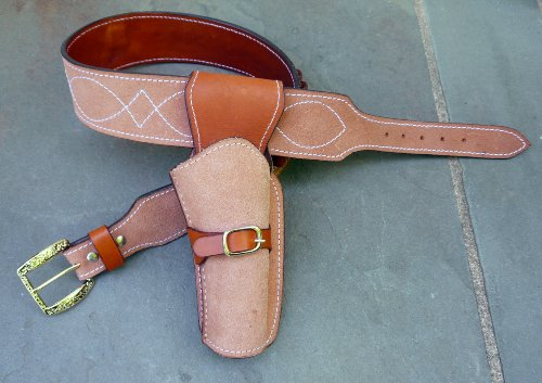 Straightline Clint Eastwood Holster Rig - Cowboy Western Gun Belt 36' - 46' The Good The Bad and The Ugly - Great Gift