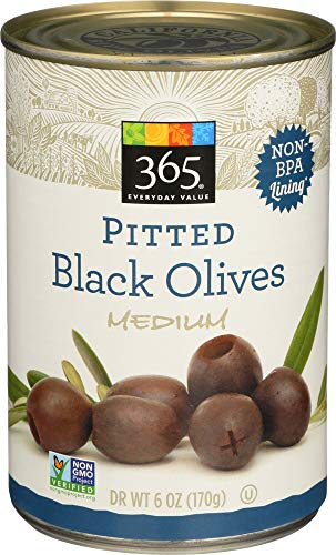 Black Condiment Olives