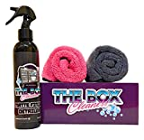 The Box Cleaners Matte Finish Detailing KIT | Waterless Wash, Microfiber Towels | Home Essentials, Polishing & Rubbing Compounds, Maintenance Bundle, Easy Apply, Tool Chest, Cleaning Essential