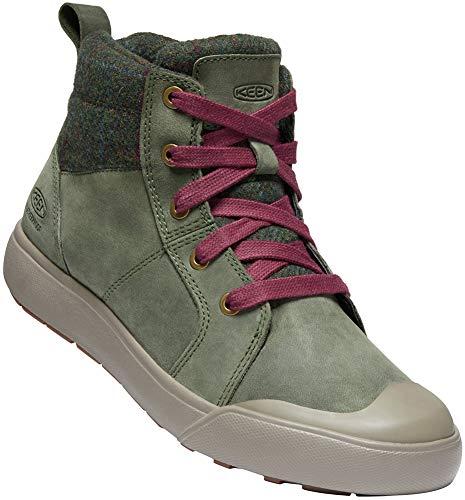 KEEN Elena Mid-Cut Schuhe Damen Climbing ivy/Plaid Schuhgröße US 9 | EU 39,5 2019