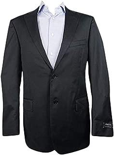 Charcoal Grey Solid Multiseason Jacket 100% Wool 42 L
