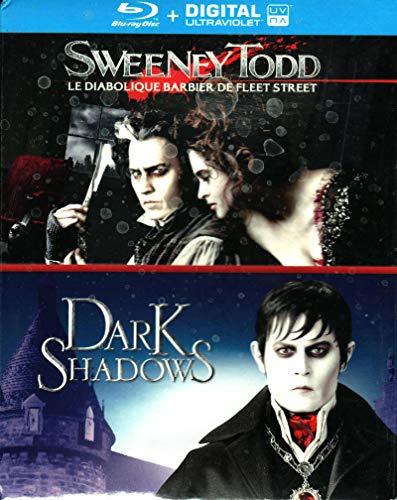 Coffret tim Burton 2 Films : Sweeney Todd Dark Shadows [Blu-Ray]