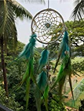 Rooh Dream Catcher ~ Genie in a bottle ~ Handmade Hangings for Positivity (Can be used as Home Décor Accents, Wall Hangings, Garden, Car, Outdoor, Bedroom, Key chain, Meditation Room, Yoga Temple, Windchime)