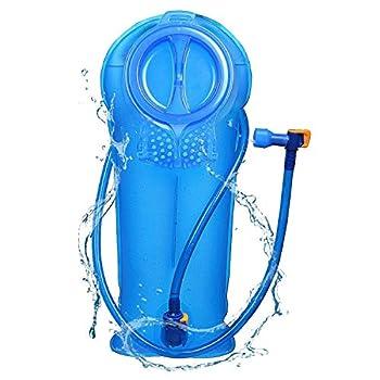 AWCNL Hydration Bladder 2 liters Leak-Proof Bag Reservoir Outdoor Water Bag Hygiene Filter Water Bag Tasteless Travel Cycling Hiking Camping