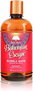 Tree Hut Shea Moisturizing Bubble Bath Bohemian Escape, 17oz, Ultra Hydrating Bubble Bath for Nourishing Essential Body Ca...
